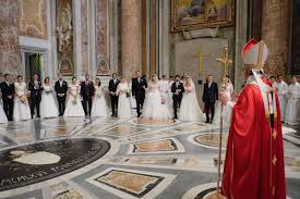 Pope Francis wedding