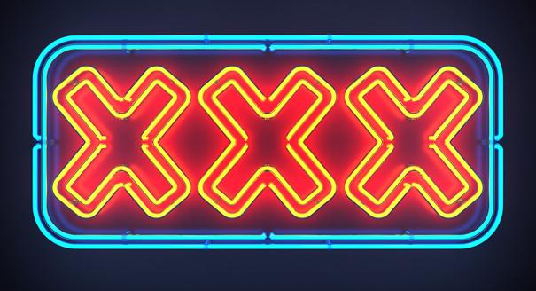 XXX Sign Pornography